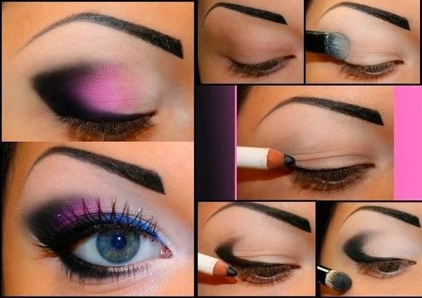 Как сделать макияж вечерний с в домашних условиях