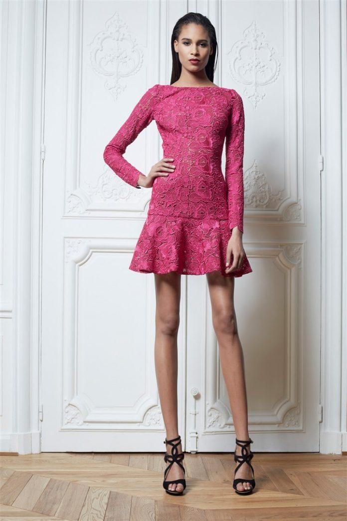 Короткие платья зима