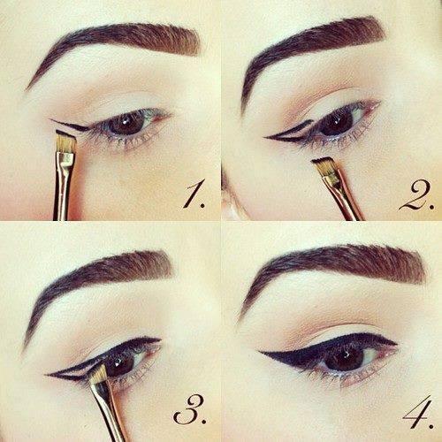 göz makyajı için teknikler