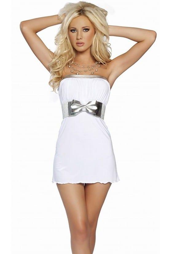 beyaz gece elbiseleri
