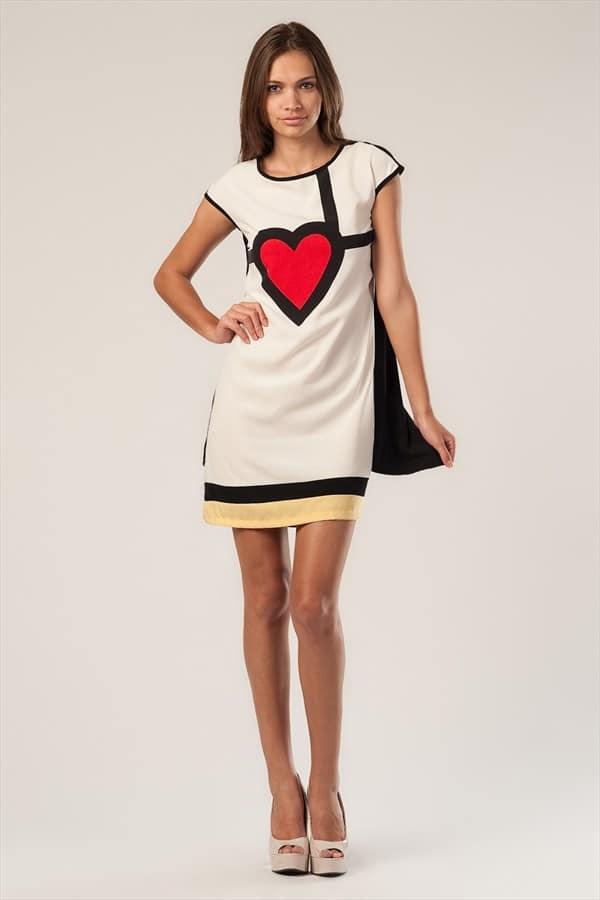 beyaz spor elbise modelleri