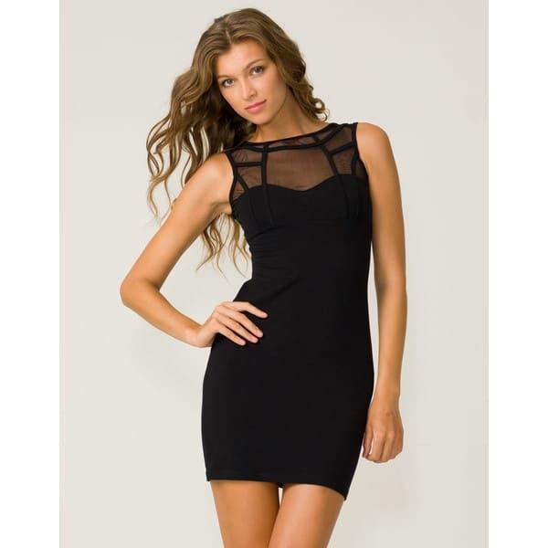 dekolteli siyah elbise modelleri
