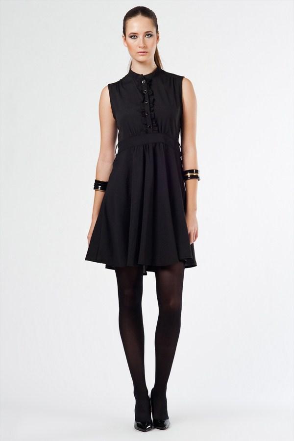 doğal kısa elbise modelleri