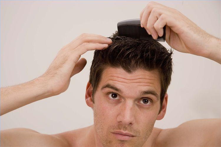 erkeklerde saç bakımı