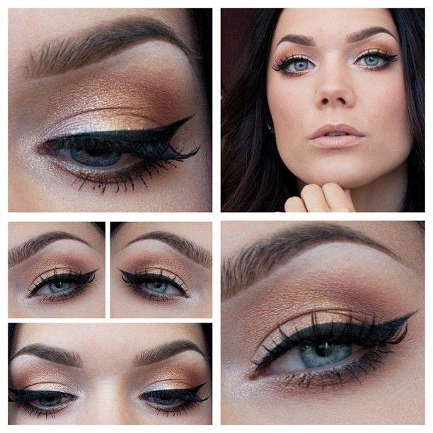 hafif göz makyajı yöntemleri