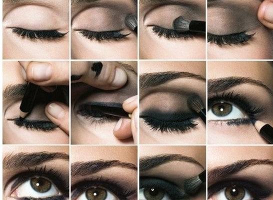 koyu göz makyajı için öneriler
