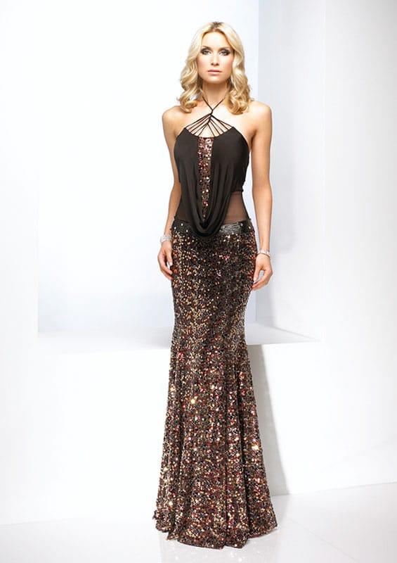 transparan gece elbise modelleri