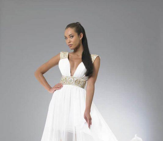 Beyaz abiyeler elbise modelelri