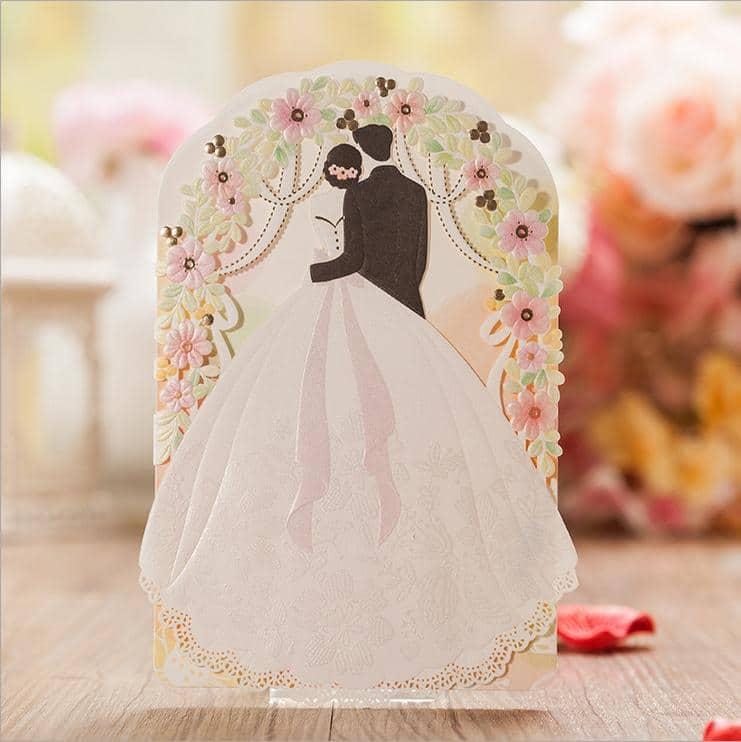 2016 düğün davetiyesi modelleri romantik