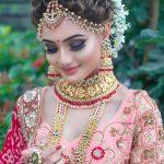 Hint gelinliği makyajı