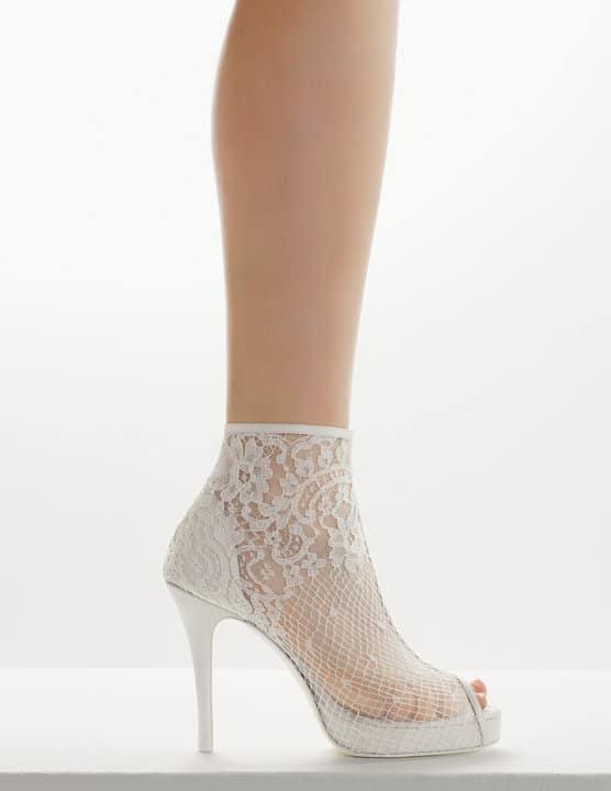 gelinler için ayakkabı modelleri seçimi dantel