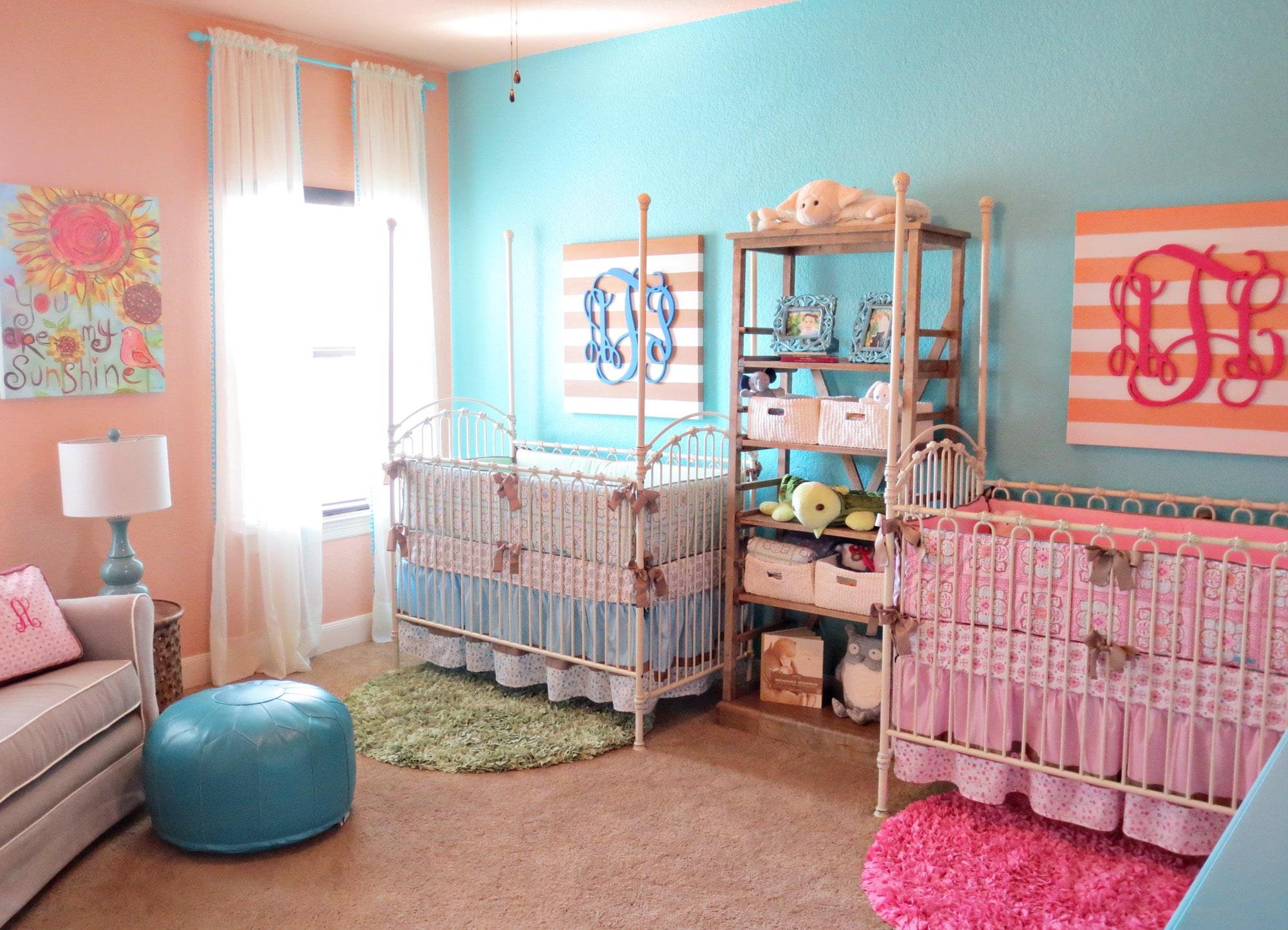 ikiz Bebek odası dekorasyonu önerileri
