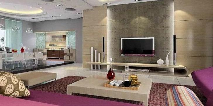modern salon dekorasyon önerileri