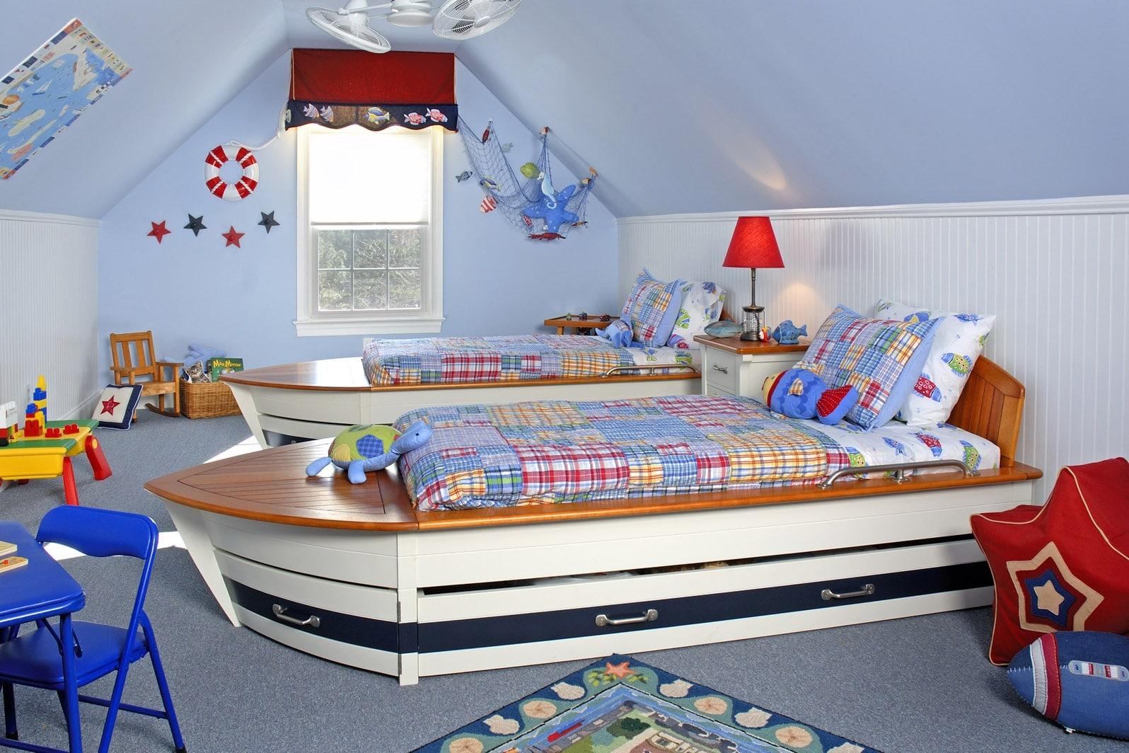 ocuk odası dekorasyon önerileri gemi