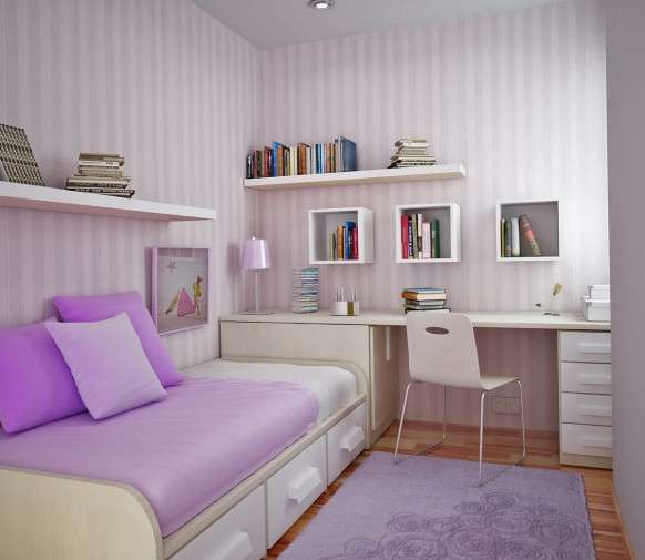 ocuk odası dekorasyon önerileri lila
