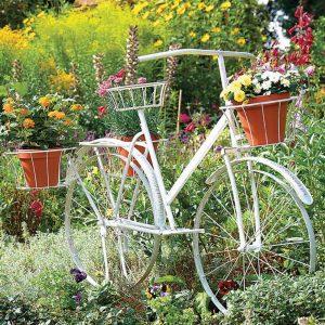 bahçe dekorasyonu bisiklet