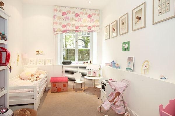 modern bebek odası dekorasyonu