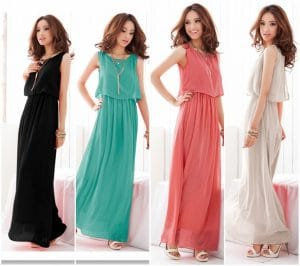Uzun Elbise Modelleri Ve Fiyatları
