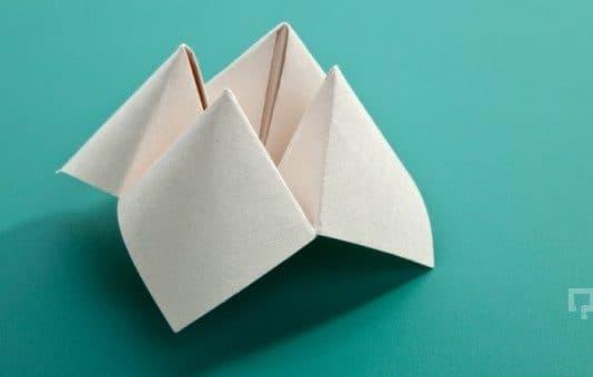Kağıttan Tuzluk Yapımı Aşamaları