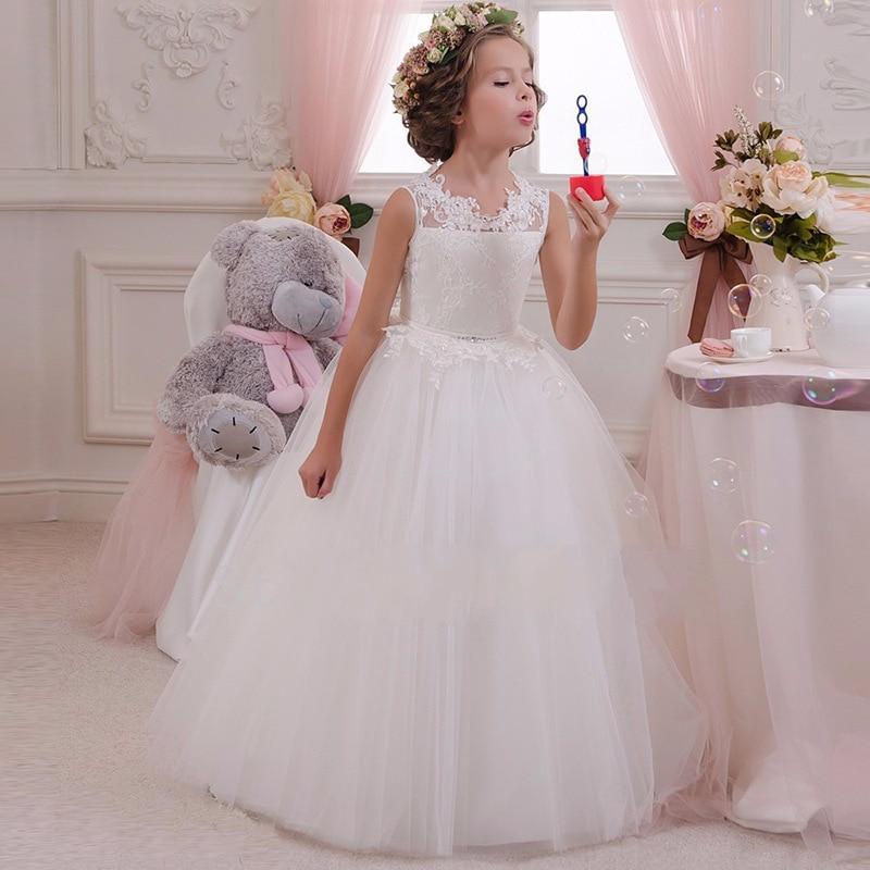 Kız çocuk düğün abiye elbise modelleri