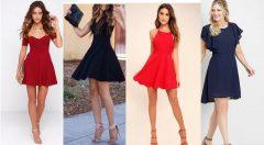 Kısa Elbise Modelleri 2021