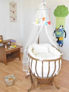 Ahşap bebek beşikleri kullanışlı mı ?