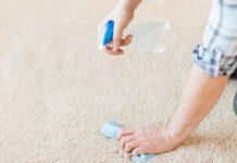 evde halı temizleme yöntemleri