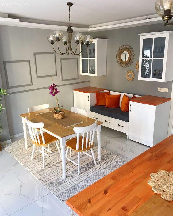 Küçük evler için kullanışlı mobilyalar