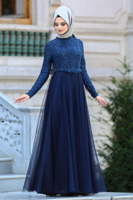 149e1d0e6565b Lacivert Elbisenin Üstüne Hangi Renk Şal Gider? - Tarz Kadın