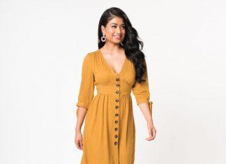 Hardal Rengi Elbisenin Altına Ne Renk Ayakkabı Giyilir?