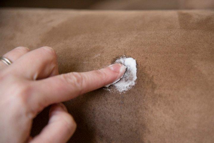 Nubuk koltuklar evde nasıl temizlenir