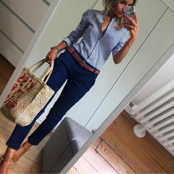 laciverte yakışan renkler-Lacivert pantolonun üstüne ne giyilir?
