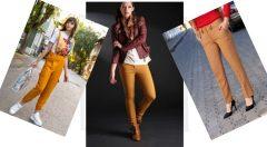 Hardal Sarısı Pantolon Üstüne Ne Gider?