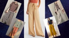Bol Paça Pantolon Üstüne Nasıl Tunik Giyilir-Pantolon Tunik Kombinleri