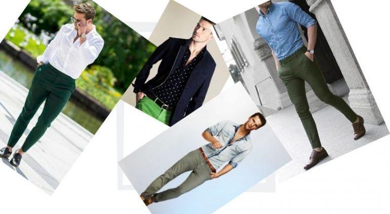 Yeşil Pantolon Kombin Erkek