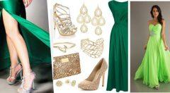 Yeşil Abiye Altına Ne Renk Ayakkabı Giyilir?