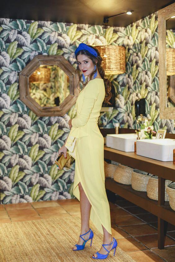 Sarı İle Uyumlu Renkler Giyim