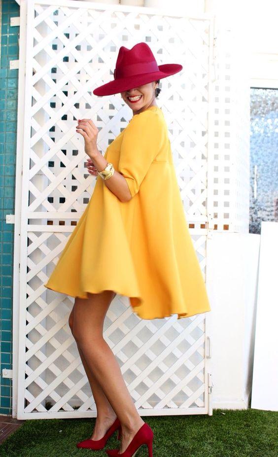 Sarı Elbiseye Ne Renk Ayakkabı olur