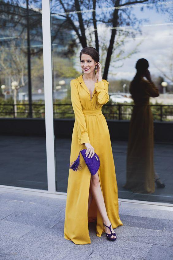Sarı Renk Elbiseye Hangi Renk Ayakkabı
