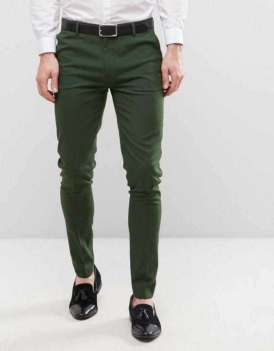 Yeşil pantolon altına siyah aayakkabıya ne dersiniz?