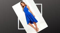 Mavi Elbisenin Altına Ne Renk Ayakkabı Giyilir?