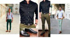 Yeşil Kotun Üstüne Ne Giyilir Erkek