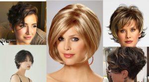 En Trend Kısa Saç Modelleri 2021-60+Fikir