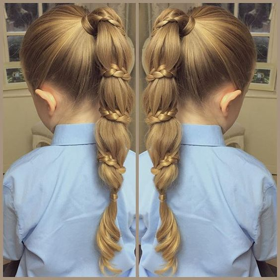 Çocuk Saç Modelleri, At Kuyruğunun En Güzel Hali