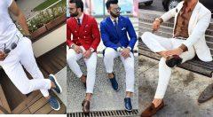 Beyaz Pantolon Altına Hangi Renk Ayakkabı Erkek