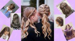 En Güzel Ve Kolay Okul Saç Modelleri Yapımı (En Yenileri)
