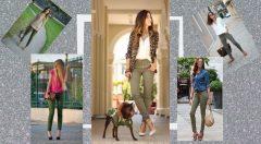Haki Yeşil Pantolon Üstüne Ne Giyilir Bayan