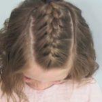 Kısa saç modeli okul için