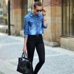 Siyah pantolon modelleri 2019-2020