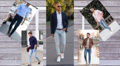 Kot Pantolon Üstüne Ne Giyilir Erkek (Buz Mavisi, Koyu Mavi, Açık Mavi)